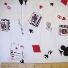 1 yard -  Deal the Cards - Snuggle Flannel fabric