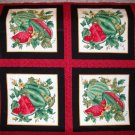 VIP Cranston - Watermelon panels fabric