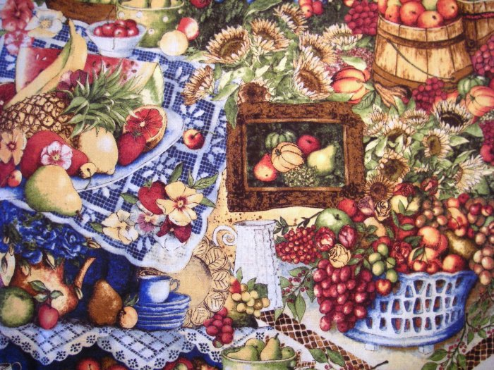 1 yard - Country Harvest - Anna Krajewski - South Seas Imports fabric - OUT OF PRINT
