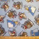 2.5 yards -  Haagar the Horrible Cartoon flannel - OUT OF PRINT
