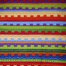 1 yard -  Bright multi stripe Hop a Long Pals Bonijean South Seas Imports fabric