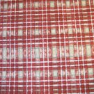 1 yard - Brother Sister Design fabric - Country Autumn - Brick red, tan, olive accents in plaid