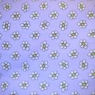 3/4  yard - Northcott Flannel - lilac with daisies all over - Buggles design