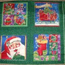 Happy Holly-Days holiday fabric panel