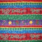 1.33 yards - Holiday panel coordinate fabric
