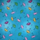 1 yard - Noah Ark / Noah's Ark Umbrella print coordinate fabric - quilt shop quality