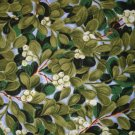 1 yard - Northcott - Mistletoe print - State Flower collection fabric - out of print