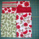 Fat Quarter Bundle - 5 FQs - Holiday Cardinal and coordinate fabrics
