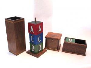 Mel Babcock ABC Blocks with Flap Box