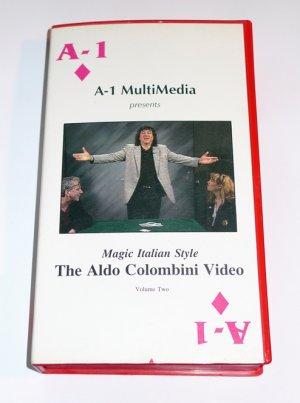MAGIC ITALIAN STYLE THE ALDO COLUMBINI VIDEO (VHS)