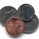 VINTAGE 21 CENT TRICK / Coin Magic