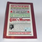 CARDS AS WEAPONS BY RICKY JAY - RARER FIRST EDITION!