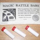 E-Z MAGIC MAGIC RATTLE BARS / Vintage Magic Trick