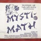 MYSTI-MATH BY E-Z MAGIC / Vintage Magic Trick