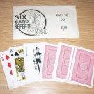 SIX CARD REPEATE / Vintage Card Magic