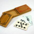 TRIKS CO. LTD. SUCKER CARD BOX / Vintage  Card Magic