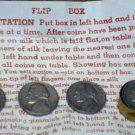 FLIP BOX WITH JEFFERSON NICKEL / Vintage Coin Magic