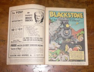BLACKSTONE MASTER MAGICIAN COMICS (1946) VOL. 1 NO. 3