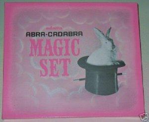 ADAMS' ABRA-CADABRA MAGIC SET / Vintage Magic Set