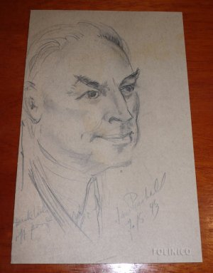 THE GREAT RAYMOND PORTRAIT SKETCH (1943) / Magic