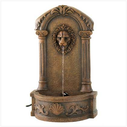 Lion's Head Courtyard Fountain Retail Price 119.95