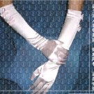 Stretch Satin Bridal Wedding Dress Opera Gloves (ST007)