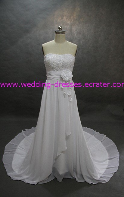 Collection Wedding Dress / Strapless Real Wedding Dress / Sample Picture Of Factory(WD603)