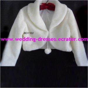 Fashion White Jacket / Wedding Dress Jacket 035