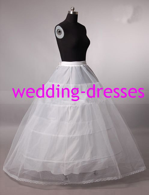 Wedding Dress Accessories-3Layers Underskirt/ Petticoat (PT023)