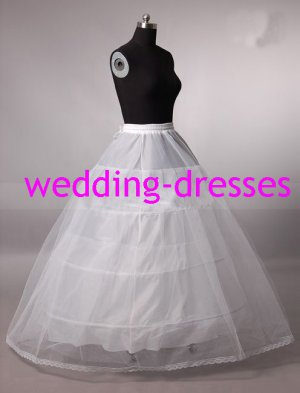 Wedding Dress Accessories-3Layers Underskirt/ Petticoat (PT023)