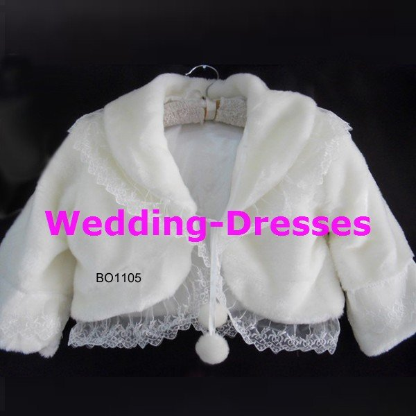 Hot Sale White Jacket / Bolero / Wedding Dress Jacket 040