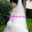 Hot Sales Appliqued 1.5 Meters Wedding Dress Accessories -Wedding Dress Veil (VL007)