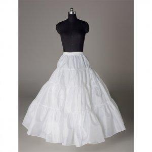 Wedding Dress Accessories-Hoopless Underskirt/ Petticoat (PT025)