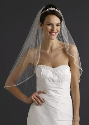 Wedding Dress Accessories -Veil  with  Comb(VL011)