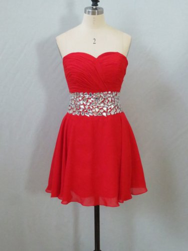 Sweetheart Cocktail Party Dress, Prom Dress, Tutu Party Dress, Bridesmaid Dress (PDH001))