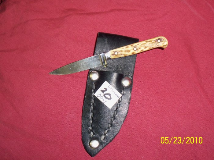 Tiny german bone handle hunter knife