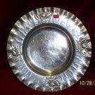 Hammered Rose Platter