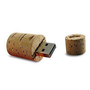 USB 2.0 Wine Cork Stopper flash drive Memory 4 GB
