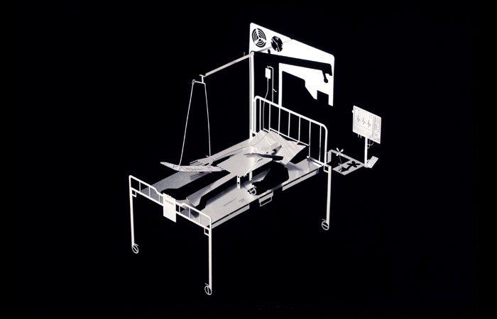 DIY MAN Metal Sculpture Kit Great Gift- Hospital