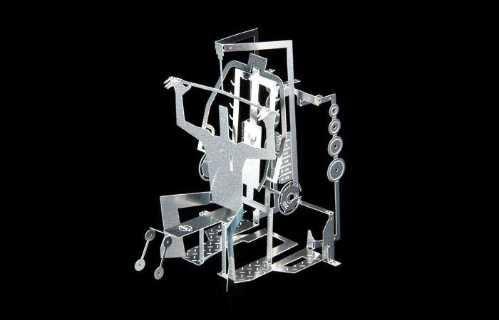 DIY MAN Metal Sculpture Kit Great Gift- Gym