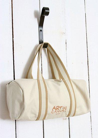Colorful Art of Canvas hangbag Tote bag - Original Color