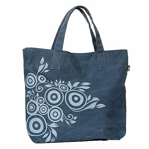 Canvas hangbag Tote Diaper Notebook bag - Clove