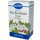 Alvita Caffeine Free Tea, Red Raspberry Leaf 24 bags