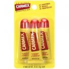 CARMEX Lip balm 3tubes dry Chapped lips Original/Cherry shipWorldwide
