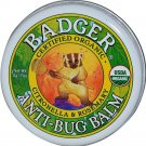 Badger Organics Anti-Bug Balm Small .75 oz Natural Certified Organic Ingredient