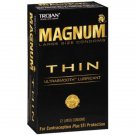Trojan MAGNUM Thin Lubricated Condoms 12-Pack + Free Shipping