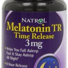 Natrol MELATONIN TR 8 Hour Time Release 3mg Sleeping Aid 100 Tablets