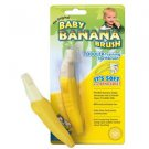 Baby Banana Teether Training Tooth Brush for Infants ship worldwide