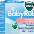 Vicks Babyrub Soothing Ointment,soothing comfort for babies, 1.76 oz