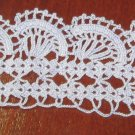 Vintage towel edge - hand crochet lace